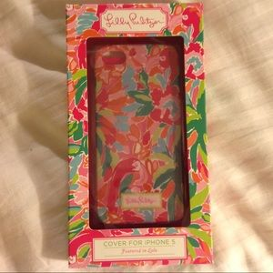 NWT Lilly Pulitzer iPhone 5 case